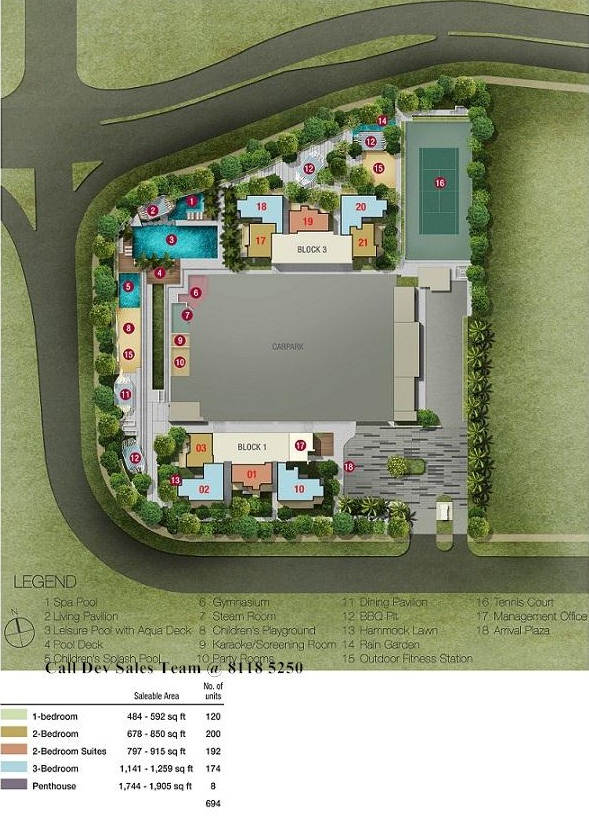 Bishan(3) Ground Floor Site Plan